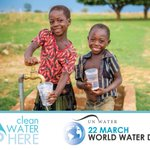 Image for the Tweet beginning: Today is @UN_Water #WorldWaterDay. Join