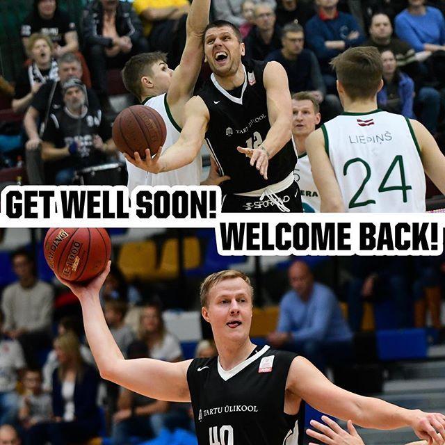 """test Twitter Media - Kahjuks ei sõitnud täna Tartu Ülikooli korvpallimeeskonnaga Riiga tsenter Tautvydas Slezas, kes vigastas treeningul hüppeliigest. """"Tautvydas maandus õnnetult Kregori jalale ja tegi liiga oma hüppeliigesele. Järgmise nädala alguses selgub vigastuse tõsidu… https://t.co/gM7s9NOTiw https://t.co/GqhZs4bR1F"""