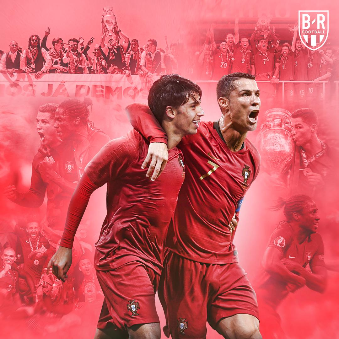 Today, @Cristiano and Portugal begin the defence of their European crown 👑🇵🇹