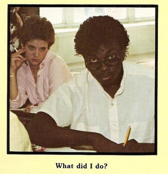 Lucy in &#39;85 Giving Me the Stink Eye Just Because My Hair was #Drip and She was on some  #PowerTrip Thought She&#39;d Be Joyous, It was #Spring, Do Tell ...but You know those #Aries, Bi-Polar as Hell!  #FridayMotivation = Have a Great Weekend <br>http://pic.twitter.com/CMXX0NYU7P