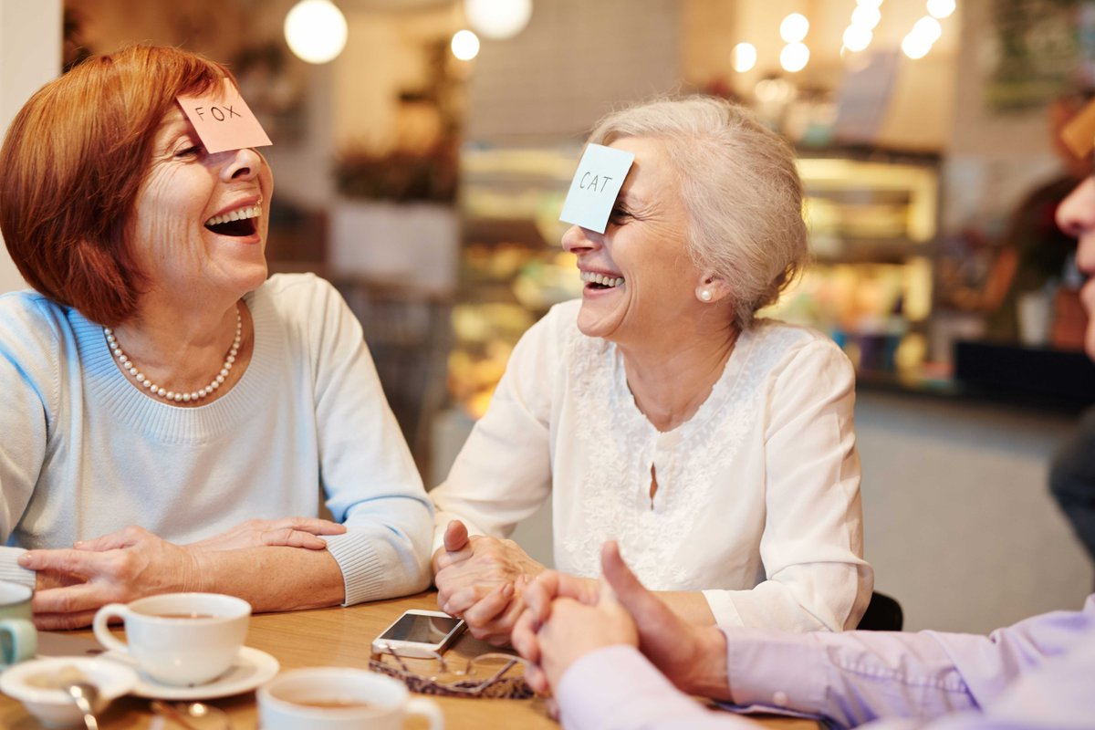 Take time to laugh! It's good for you. Learn about the link between laughing and #HeartHealth and get 5 ideas for how to laugh more: