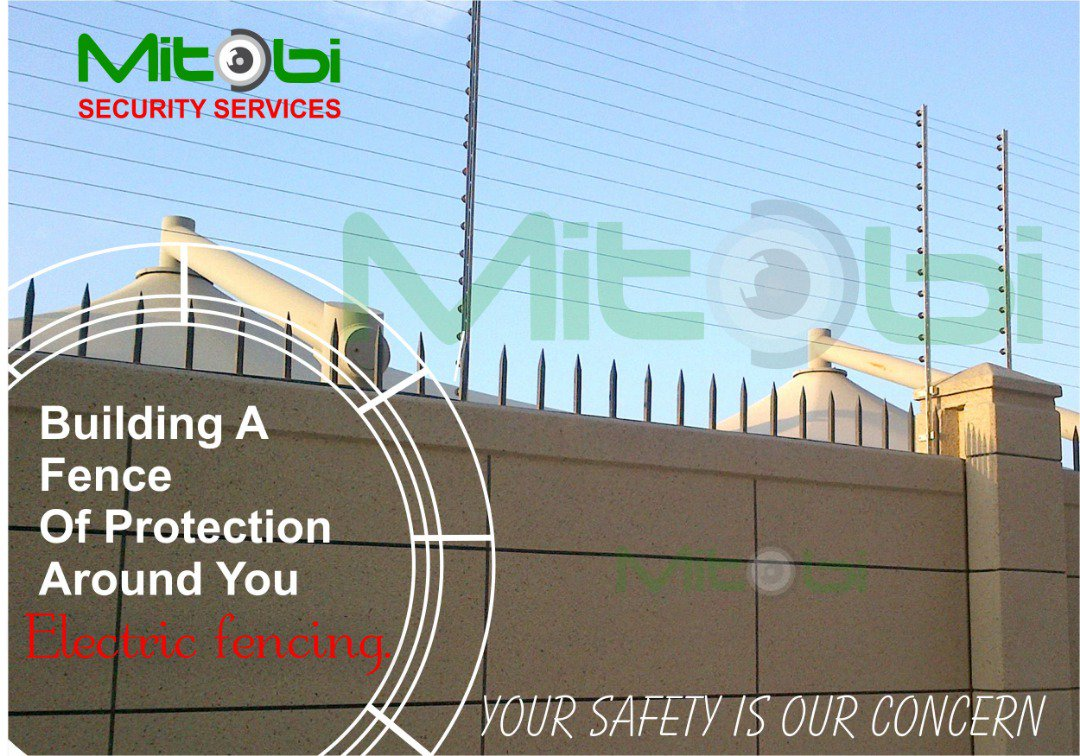 Electric Fencing for safety at home. Contact: 08033133950 Home security is our priority. #homesecurtiy #electricfencing #security #safety #technology #mitobicctv #homeautomation #solutions #mitobiltd