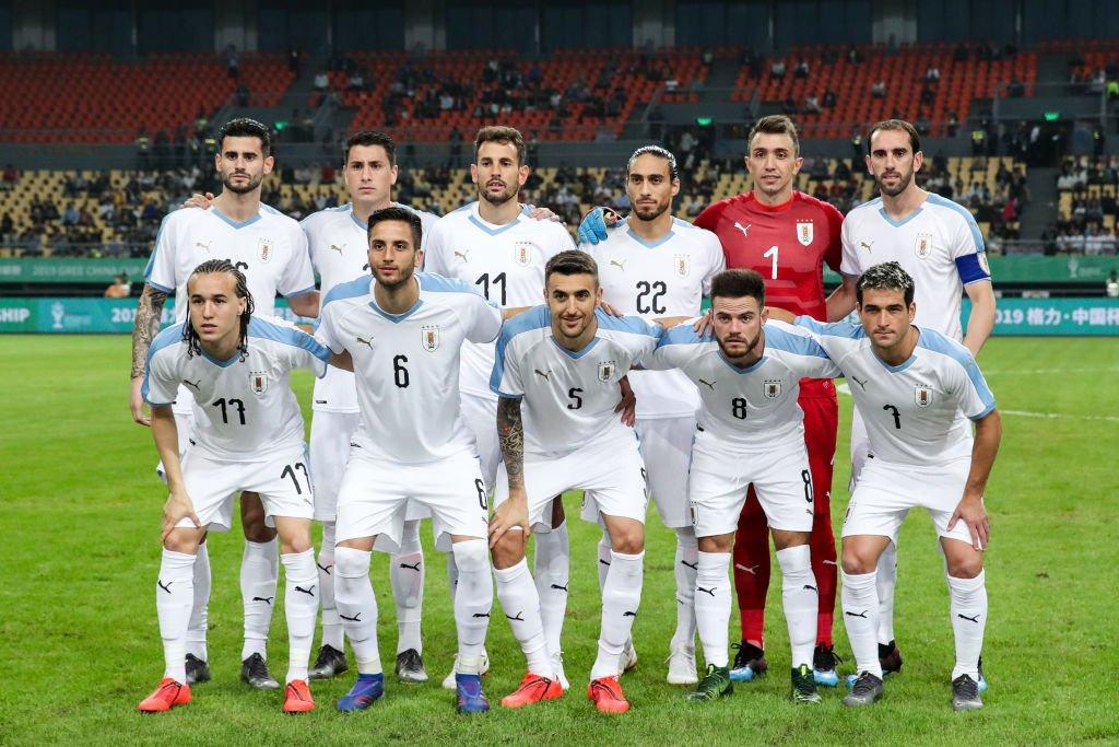 Uzbekistan 0 Uruguay 3 - Amistoso Internacional 2019 - Video D2RCH38XQAAYp1U