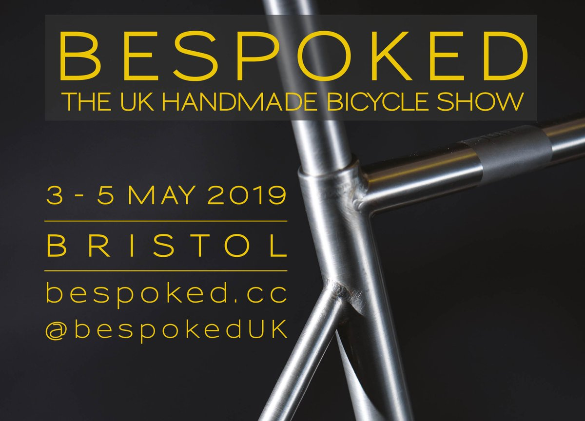 test Twitter Media - A celebration of handmade bicycles & those that make them - Bespoked 2019. Brunel's Old Station, Bristol - Fri 3rd - Sun 5th May. Early bird tickets ON SALE NOW >> https://t.co/HndsGChwdU https://t.co/PiMrieIRlo