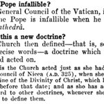Image for the Tweet beginning: @Vae_Victis_1958 @NovusOrdoWatch To say papal