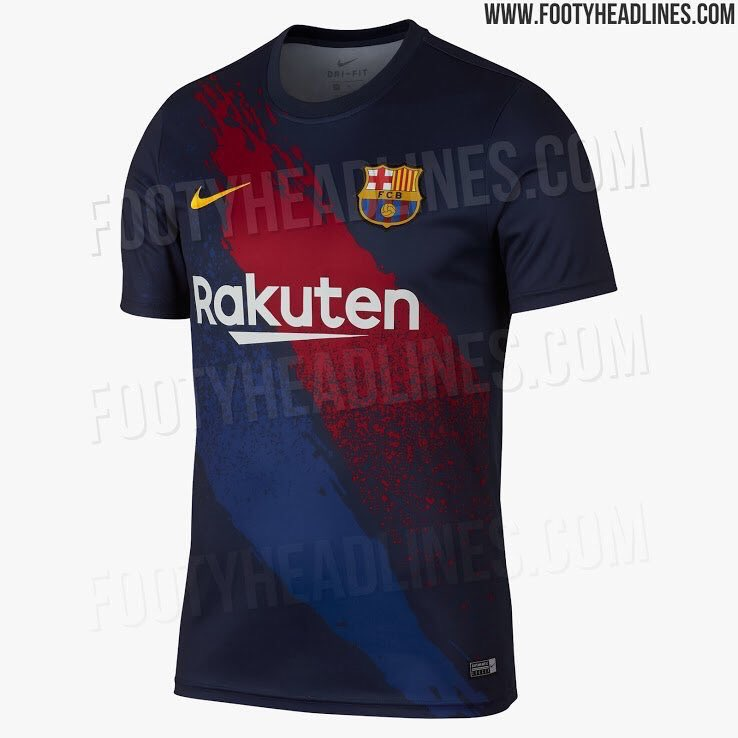 This is 🔥🔥🔥 can't we use it as the first kit instead of that croatian square barça kit?