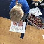 Image for the Tweet beginning: Kindergarten and 1st Grade learned