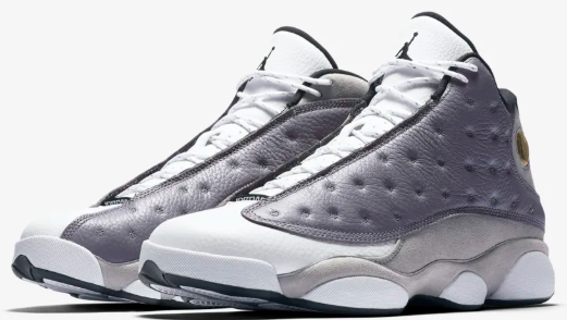 68ff2776749001 The black panther inspired silhouette pays homage to MJ s predatory nature  on the court. The  Jumpman23 Air Jordan XIII  Atmosphere Grey  launches  tomorrow ...