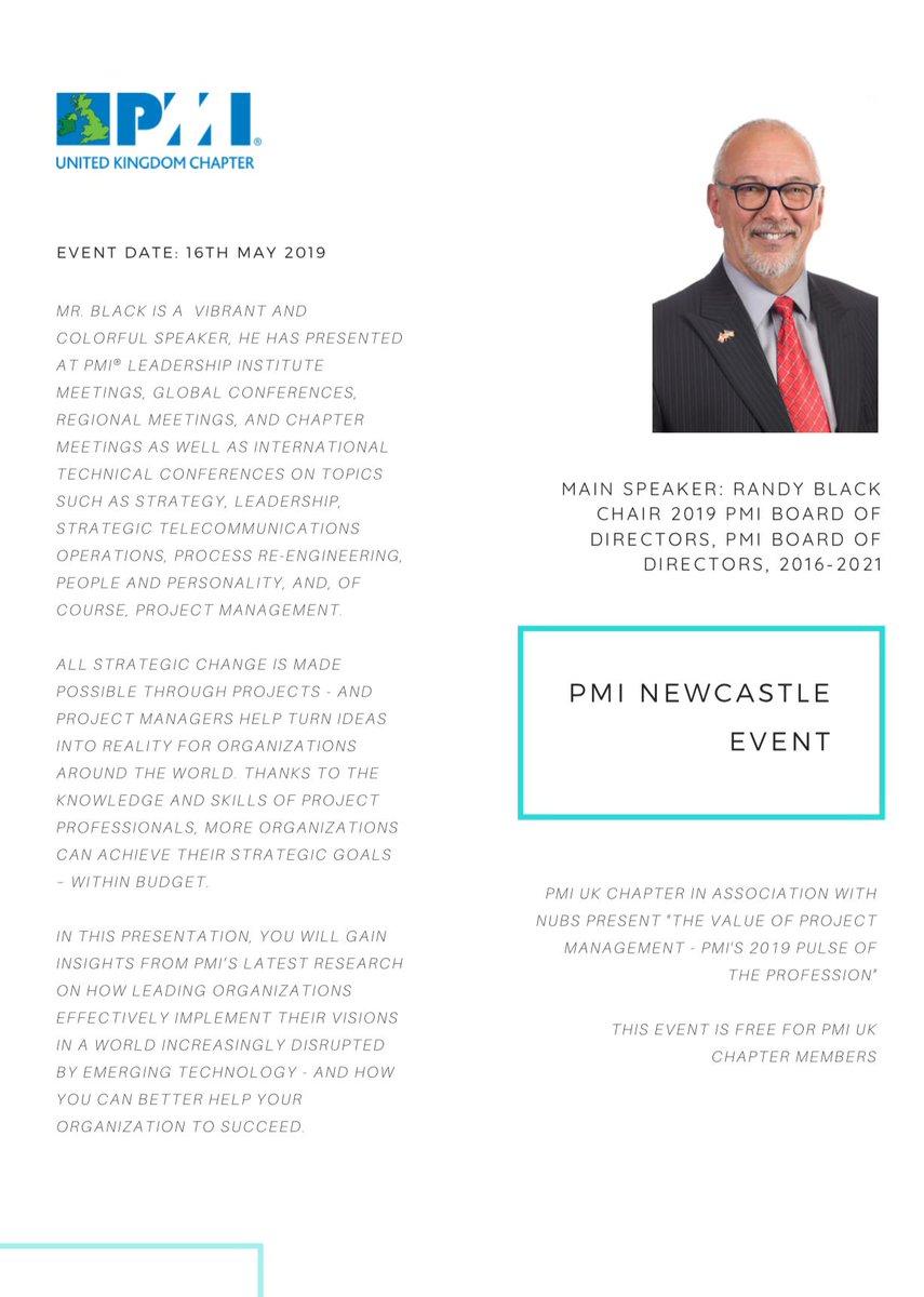 PMI United Kingdom Chapter on Twitter: