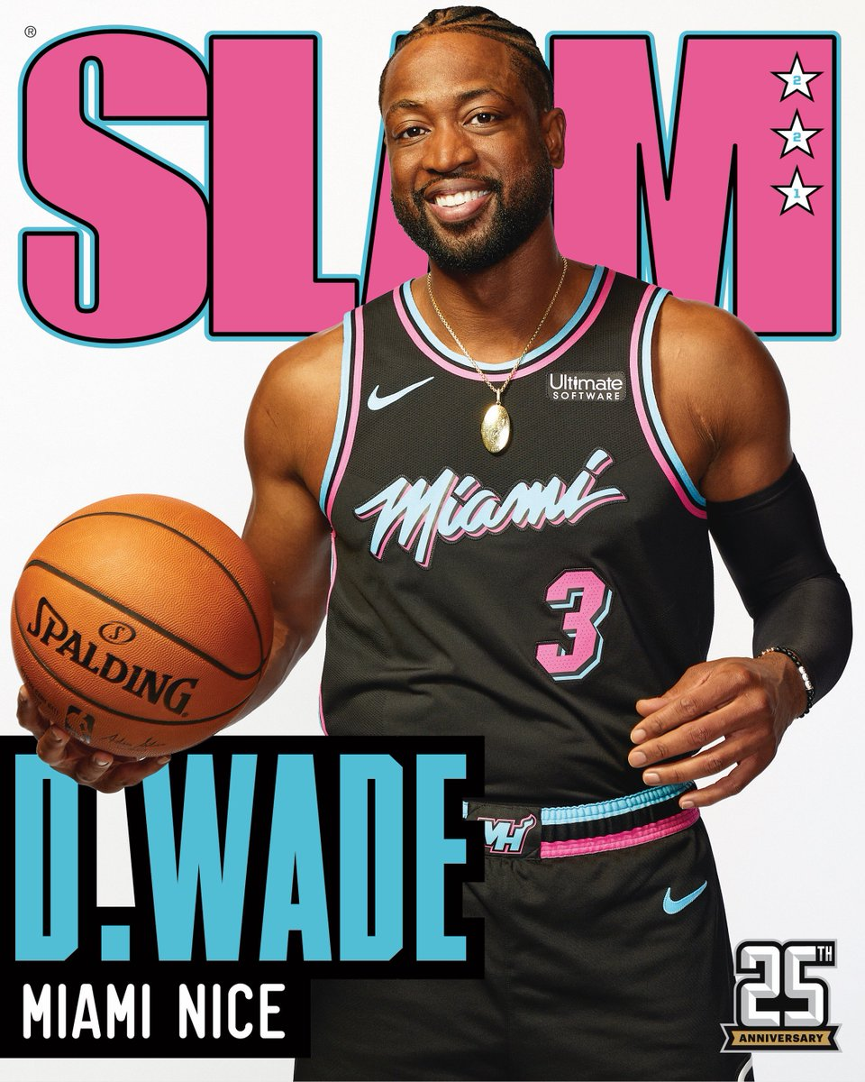 Salute to a legend. ⚡️  Dwyane Wade covers SLAM 221: http://slam.ly/wade-cover