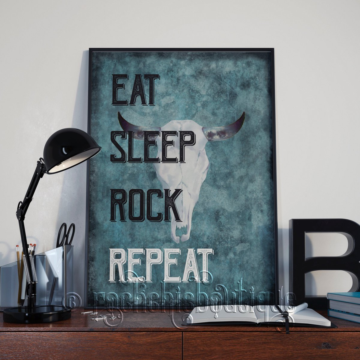 test Twitter Media - ⚡️ Eat Sleep Rock Repeat ⚡️ Heavy Metal lovers and Rock Gods rejoice, if music is life then this is the print for you! Alternative artwork for your walls https://t.co/bhPPYprwrY #QueenOf #Alternative #WallArt #ArtistsOnTwitter #ShopIndie #Etsy #HeavyMetal https://t.co/WXvxh8Ar7e