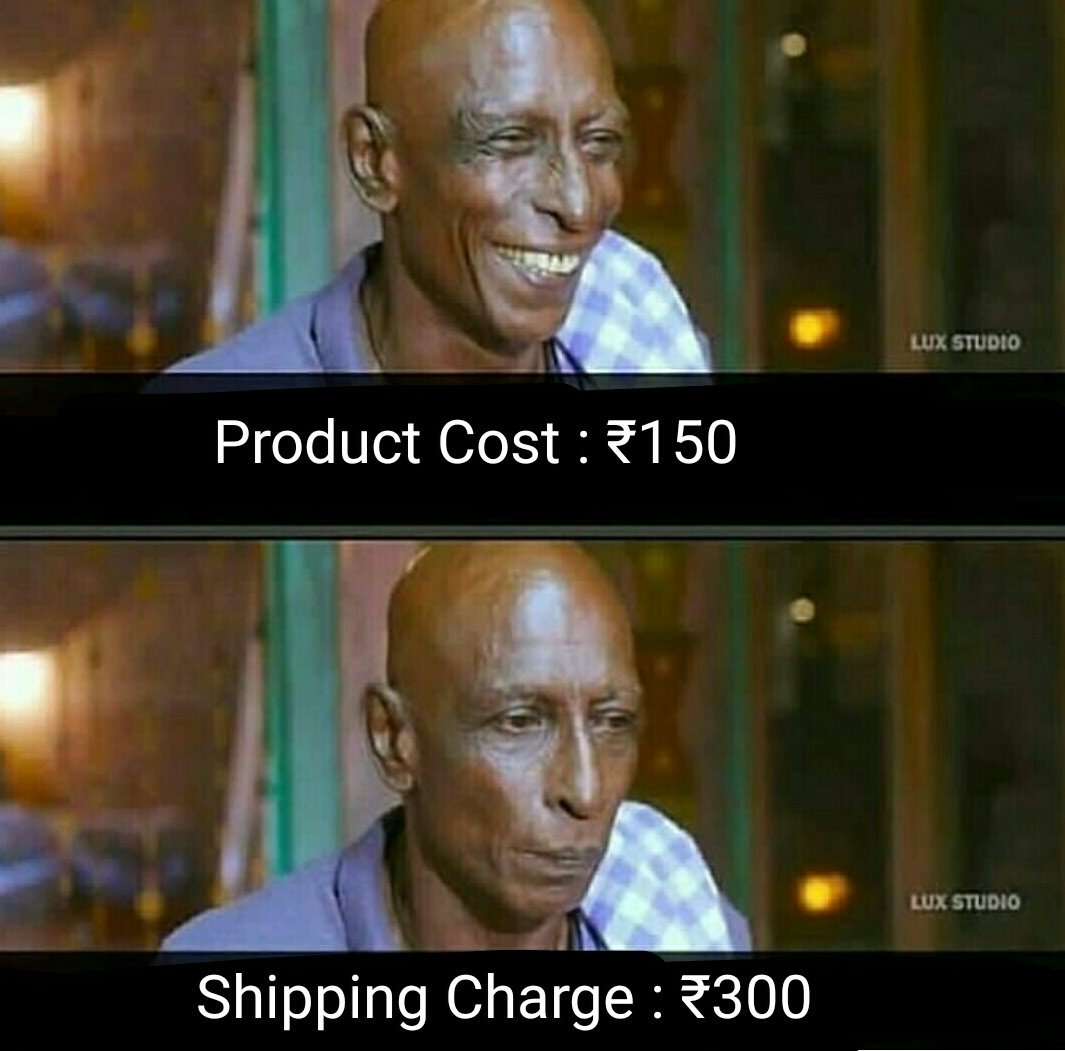 When you try to buy a product online.