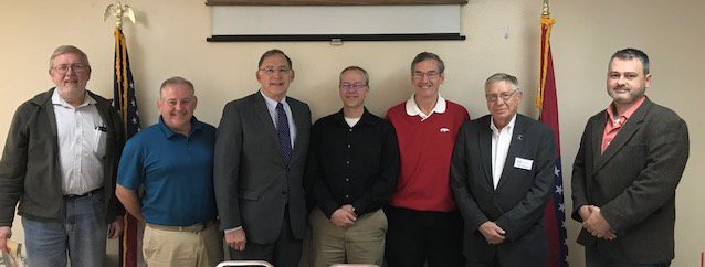 It was great to spend some time with leaders in Van Buren County. We talked with @kffb1061 about the changes in the region and how the improvements are advancing economic opportunity. Listen to the interview here. https://www.kffb.com/us-senator-john-boozman-mayor-paul-wellenberger-mayor-richard-mccormac-judge-dale-james-on-kffbs-open-mic-with-bob-connell/…
