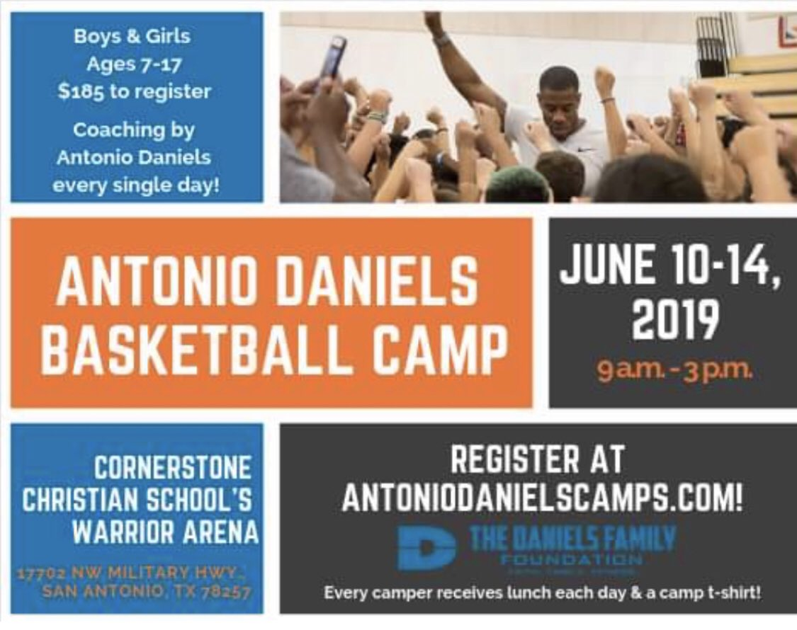 Save the date, it's that time! Year #19 of camp. If you have or know of a child(boy or girl) with an interest in the sport, regardless of skill level. We would love the opportunity to grow/teach them. We promise an impactful week for both you and your child.
