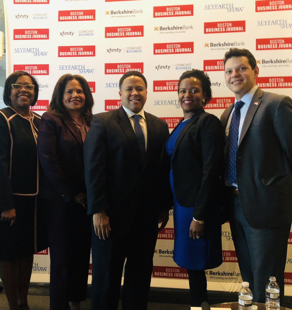 test Twitter Media - Great morning @BosBizJournal #BBJDiversity event. Proud #Cathedral alumna @DonnaGittens moderated an amazing panel of (L-R) Marianne Lancaster, Orlando Watkins of @bostonfdn, @ldforry of @SuffolkBuilds and @IvanEspinozaESQ. Many thanks to our fantastic partners @BerkshireBank https://t.co/ncvCmkhRwJ