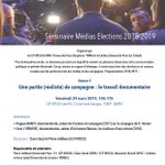 "Image for the Tweet beginning: ""le documentaire de campagne électorale"""