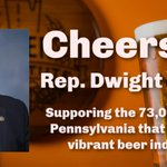 Image for the Tweet beginning: Thank you @RepDwightEvans for sponsoring