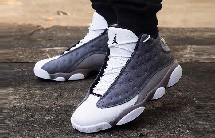 eaeaba762de3a Dropping Soon!!!! https   fastsole.co.uk sneaker-release-dates brands nike-jordan air-jordan-13-atmosphere-grey-414571-016   …