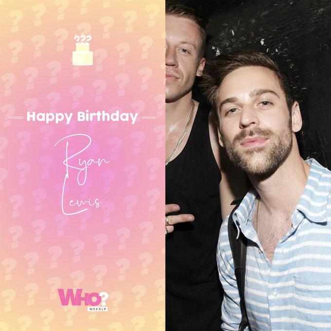 Happy birthday, Ryan Lewis!