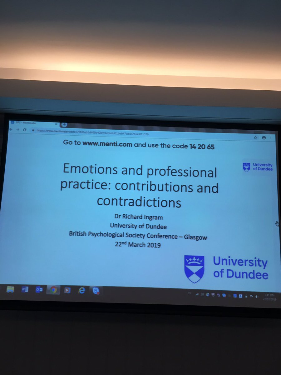Just getting ready for our final keynote from Richard Imgram. Professional reflection and understanding of our own emotions is central to who we are as Educational Psycholgists @SDEP9 @Kirstiei @DECPOfficial @SANNEWilson #EPwellbeing2019