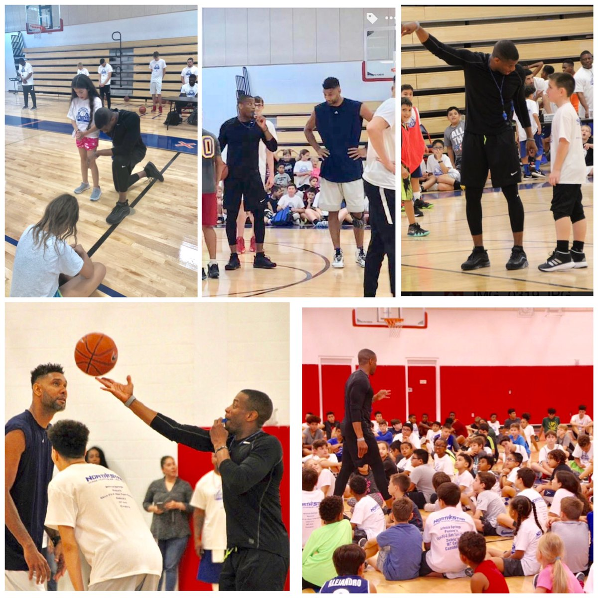 Last years Coaches vs Campers AS game. #CoachesWon😉 You can also register at http://DanielsFamilyFoundation.com  and click on basketball camp.