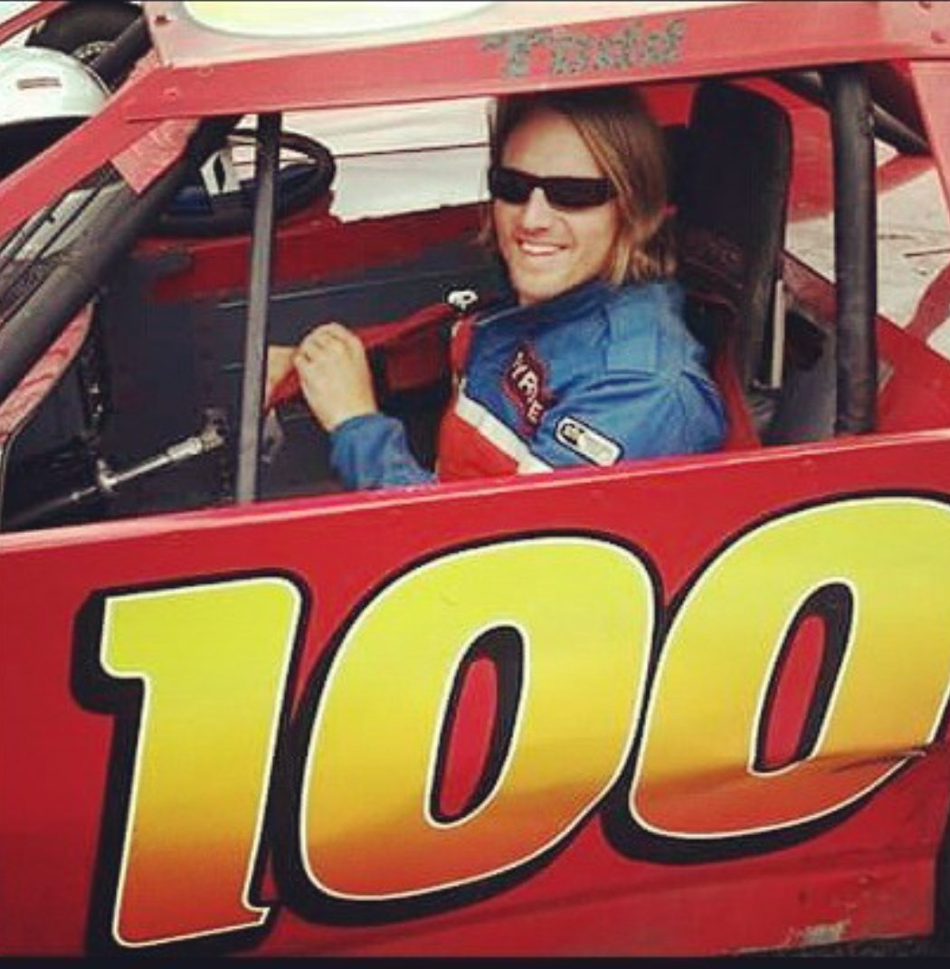TBF. My HAPPY Place behind the wheel about to do business with other drivers as we battle on The Track! #HappyFriday  Thanks to all my new followers #100  #Thanksforfollowing  #MotorCityMissile