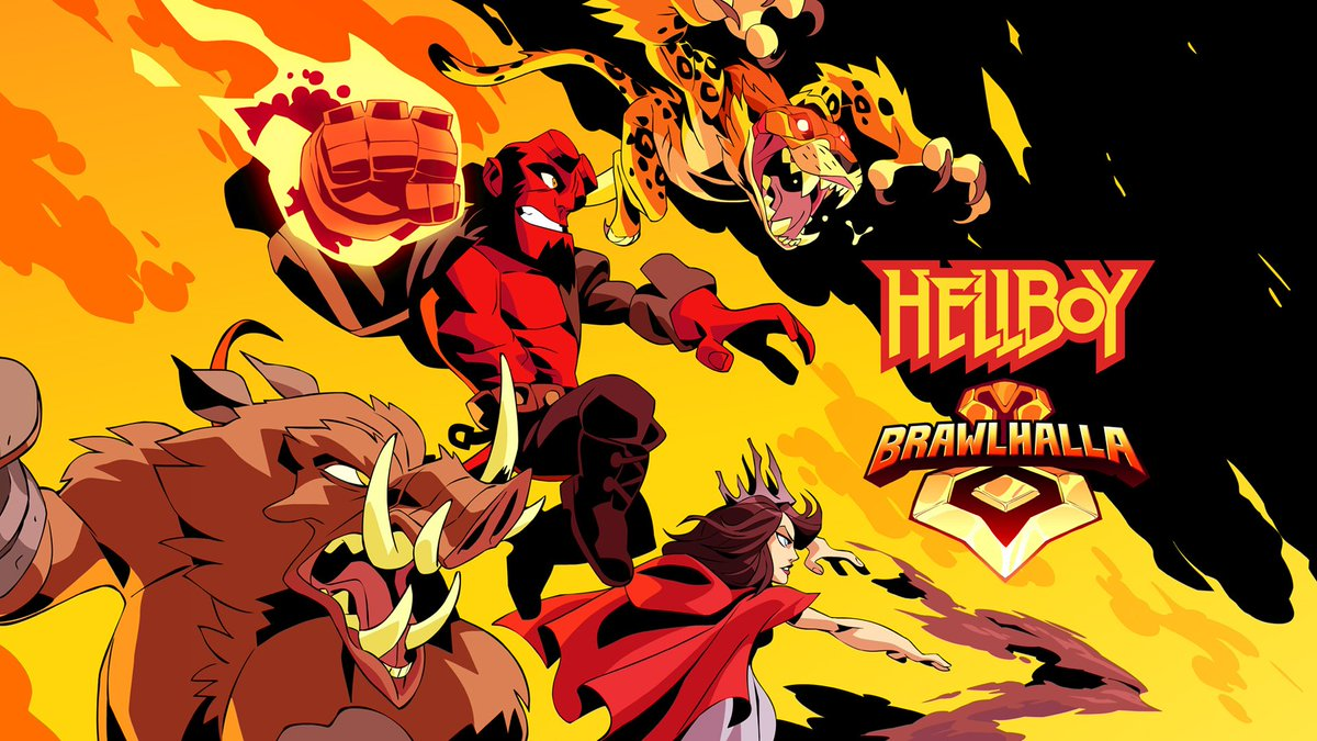 #Hellboy is coming to Brawlhalla!