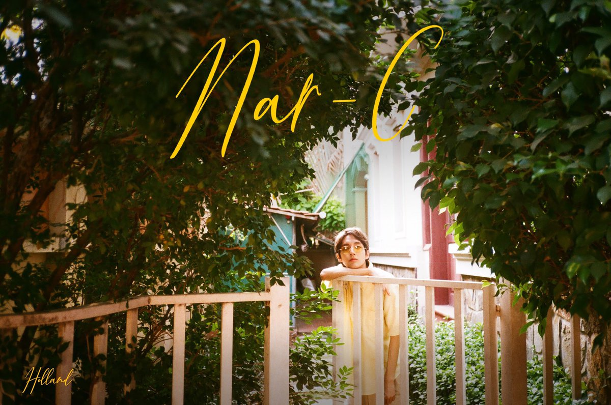 Holland and Jaeseok have lived together for about a year🍃  #Nar_C  2019.3.31 KST 6PM  #Holland MINI ALBUM [#HOLLAND]