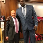 Image for the Tweet beginning: Shaq told me he has
