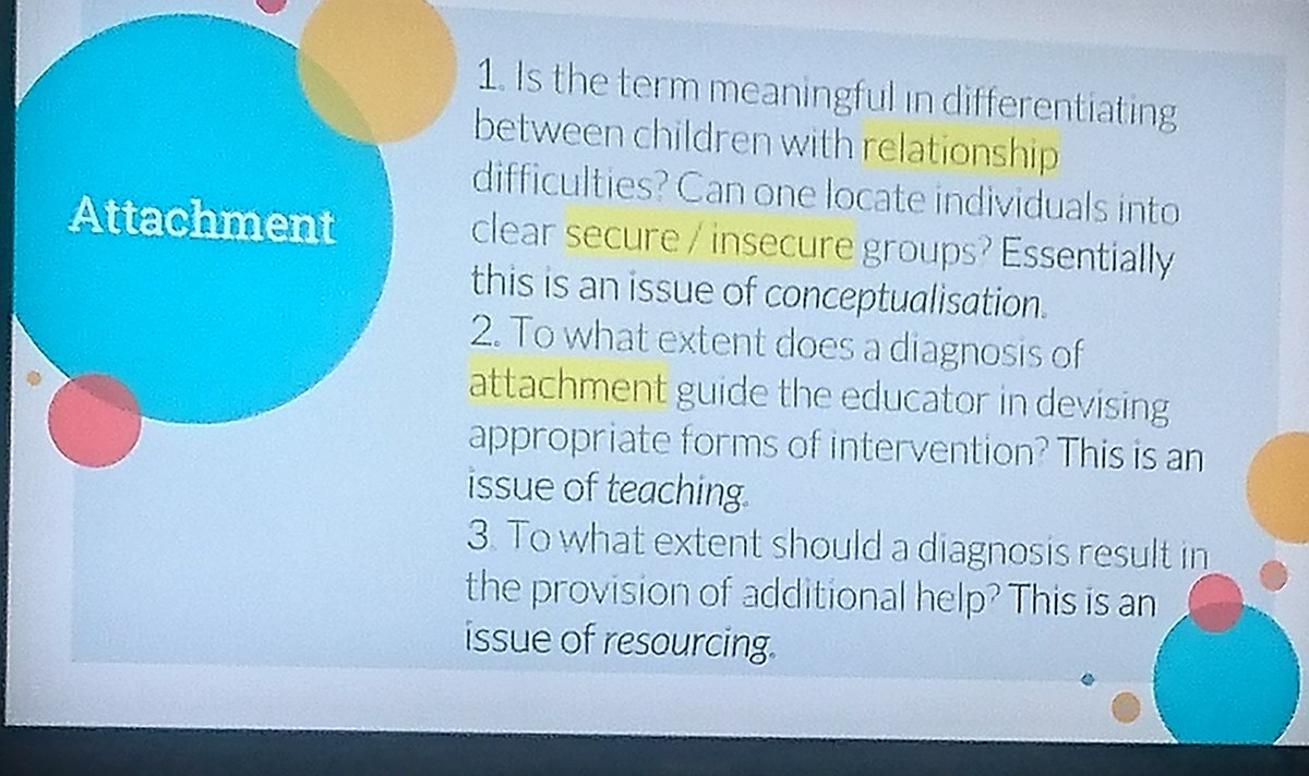 A great critical overview on attachment/relationships by @DrWillPsyc. Thoroughly enjoyed it 👏 Thank you. @SDEP9 @DECPOfficial  #EPwellbeing2019