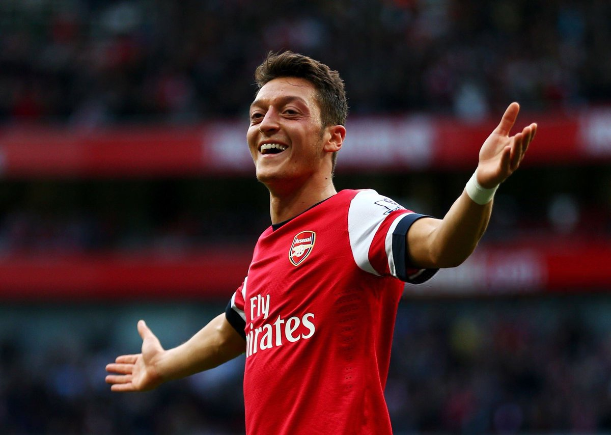 Mesut Özil has been top assist provider in:   Bundesliga  La Liga  Premier League  Champions League  Europa League  World Cup   European Championships  No player in football history has achieved this feat. <br>http://pic.twitter.com/75MzkF5FEH