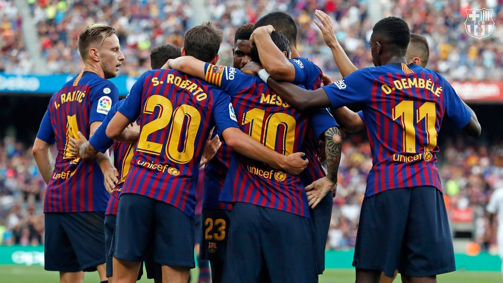 🏟️Book your tickets here and enjoy #FCBarcelona masterclass football from #CampNou best seats as #Messi and company take on city rivals #RCDEspanyol for #LaLiga Round 29 Catalan Derby on Saturday March 30th. (16:15h. CET)🔵🔴   https://buff.ly/2UEKtXz