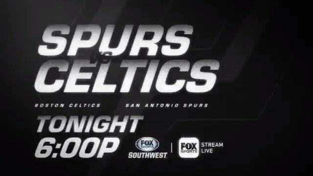 SPURS GAME DAY!  🏀 #GoSpursGo vs. #CUsRise ⏰ 6:00 pm | @spurs Live 📺 #FOXSportsSW 📲 #FOXSportsGO 🔗https://foxsports.onelink.me/SY6x/b0ea2205 🎙 @BillLand, @seanelliott_32