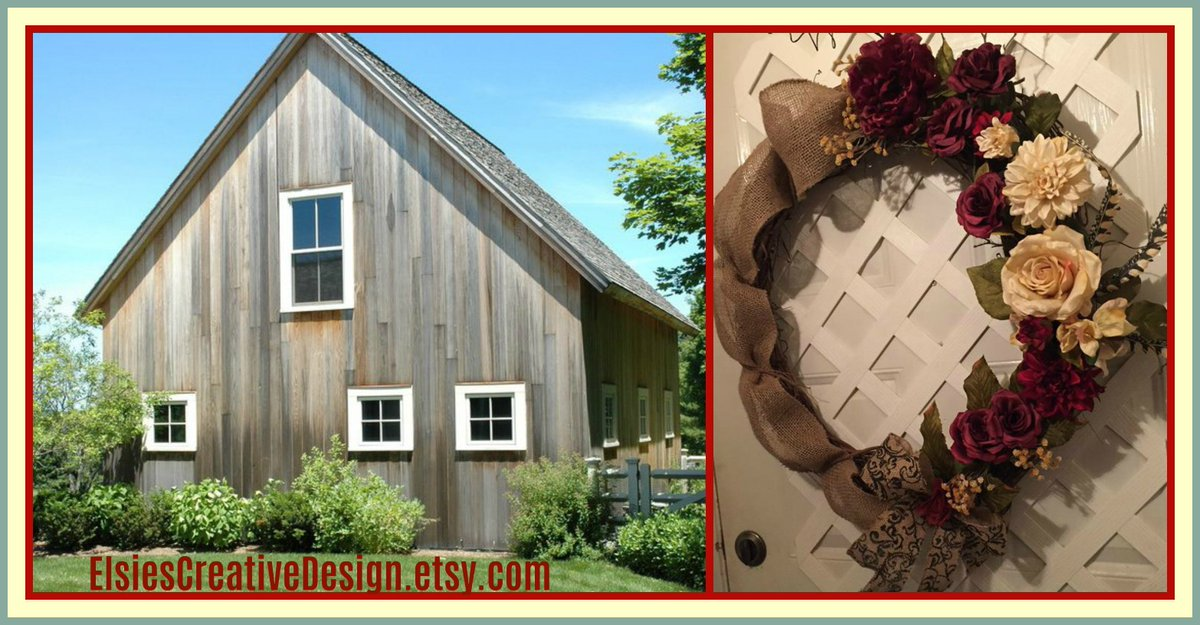 Rustic Farmhouse Home or Wedding Wreath  CUSTOM ORDERS Welcomed  https://www. etsy.com/listing/277099 524 &nbsp; …  #etsyspecialt #EpicOnEtsy #TGIF #tgifridays #GiftForHer #Craftshout #HomeDecor #WeddingDecor #FarmhouseStyle #FrontDoorWreath #WeddingWreath @FatalRTs @etsy #RusticDecor @EtsysFinest #etsyRT<br>http://pic.twitter.com/bup3IYORgt