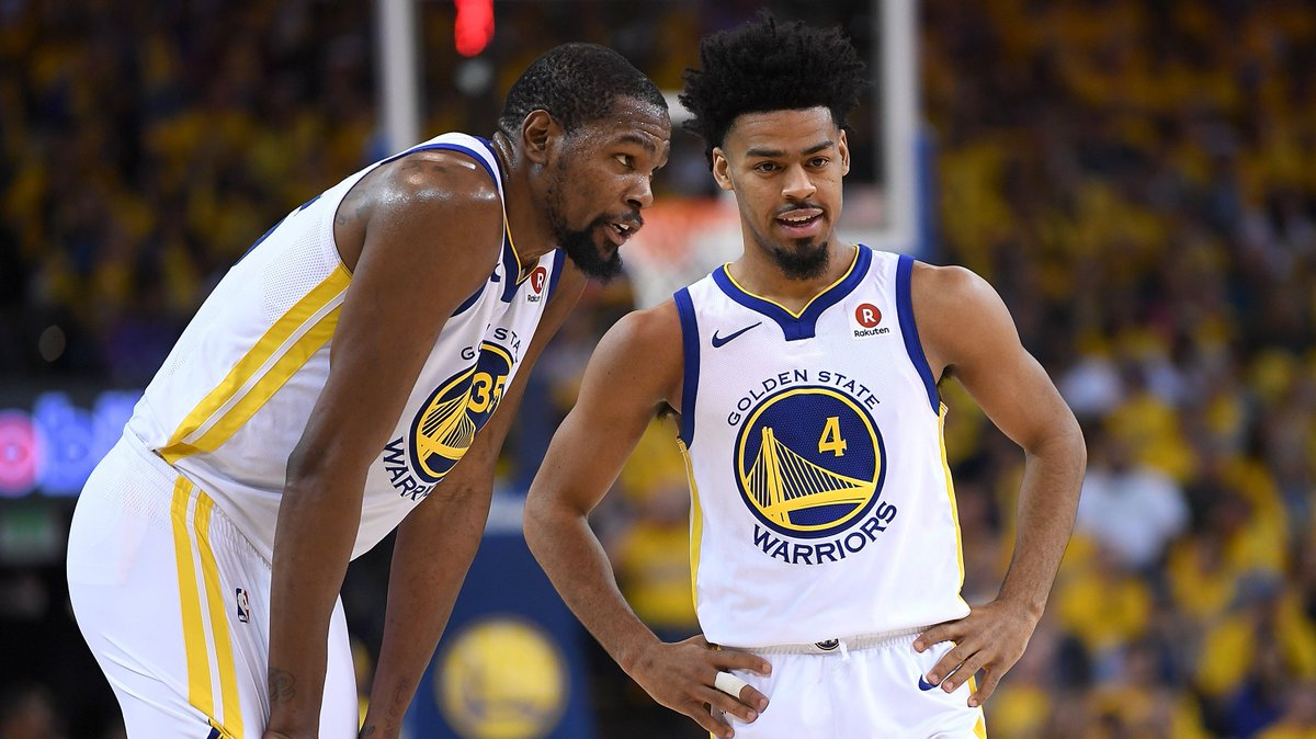 7dcaec7005fe kevin durant and quinn cook mourn death of close friend during warriors win  over indiana