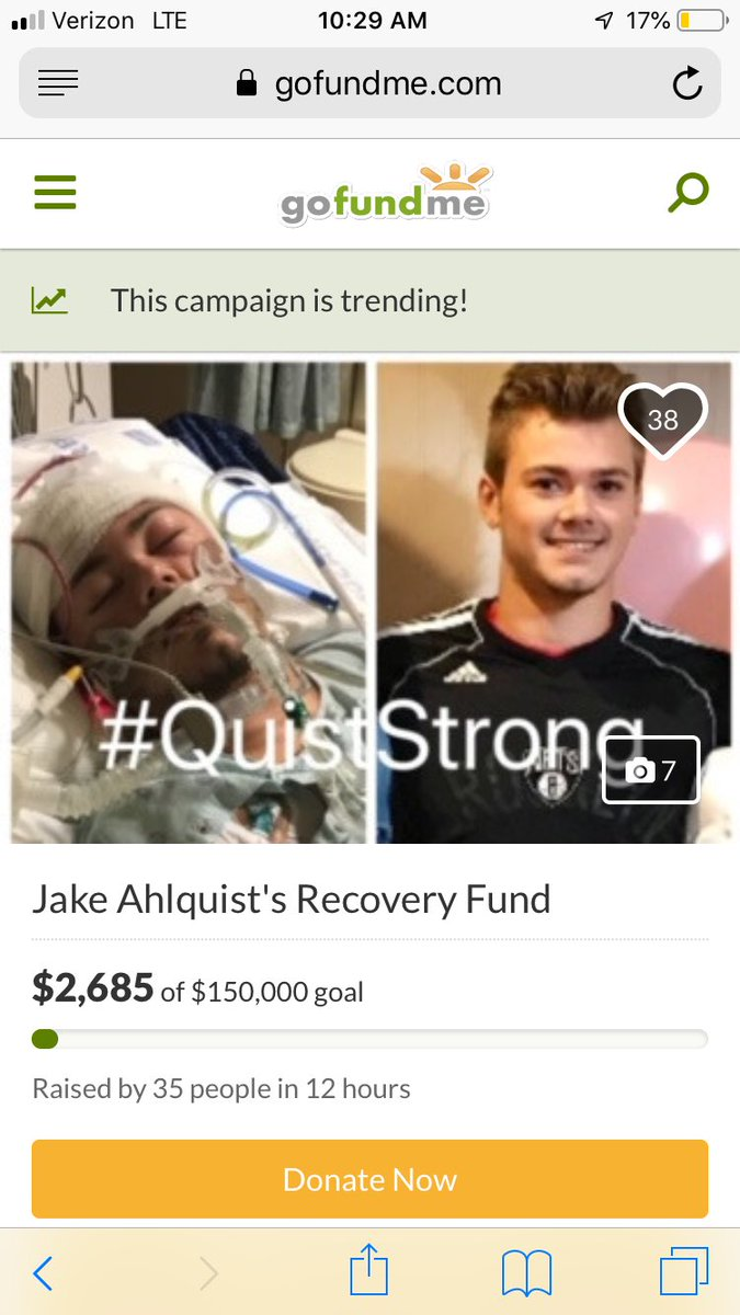 My best friend Jake is the biggest Cowboys fan I know! He suffered a severe brain injury over spring break. Please, a simple retweet to spread the word would be greatly appreciated by our community and most importantly his family. @dallascowboys @dak @EzekielElliott @JasonWitten <br>http://pic.twitter.com/zFp65jHuxe