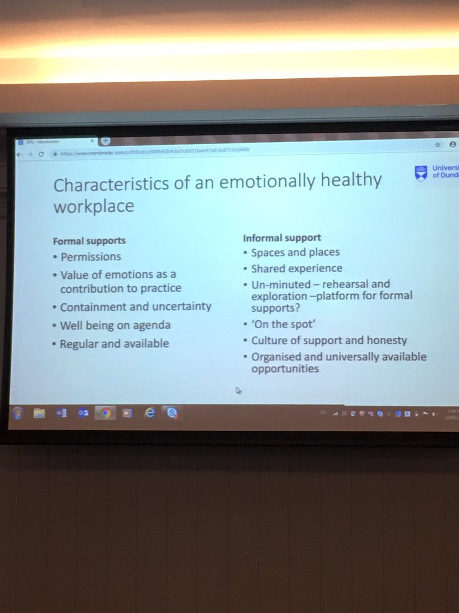 Is your workplace emotionally healthy? Do you have permission to discuss your emotional responses? @SDEP9 @Kirstiei @DECPOfficial @SANNEWilson #EPWELLBEING2019