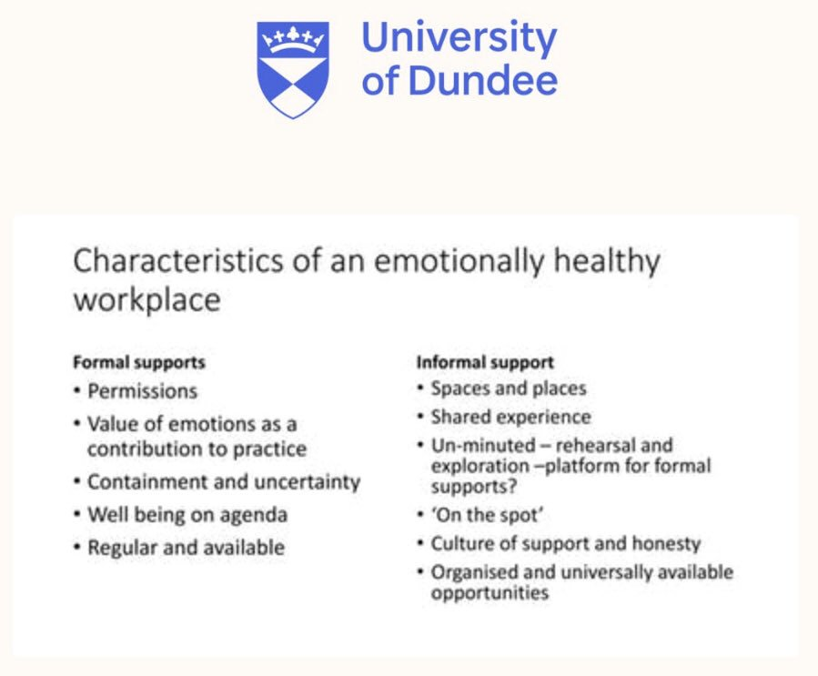 Important messages from Dr Richard Ingram about emotions in the workplace.  @DECPOfficial @SDEP9 #wellbeing #twitterEPs #EPwellbeing2019