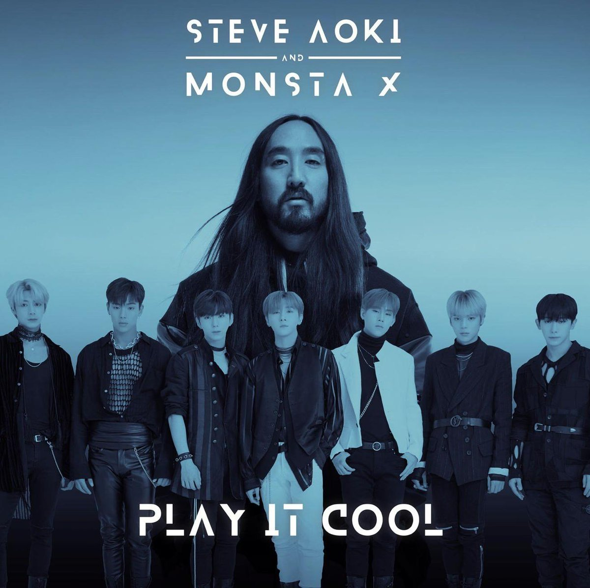 K-Pop Kings @OfficialMonstaX &amp; super-producer @steveaoki heat up this week&#39;s New Music Friday with an English-language version of &quot;Play It Cool&quot;:  https:// idola.to/2FkpvH4  &nbsp;  <br>http://pic.twitter.com/4AZey0TQ2H