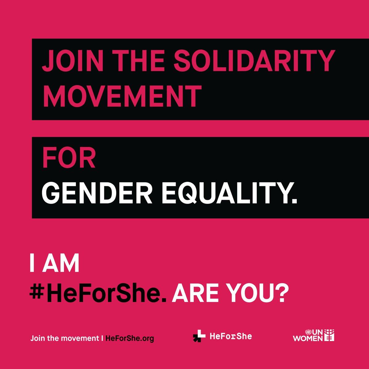 Are you #HeForShe Make the commitment at https://www.heforshe.org/en/commit