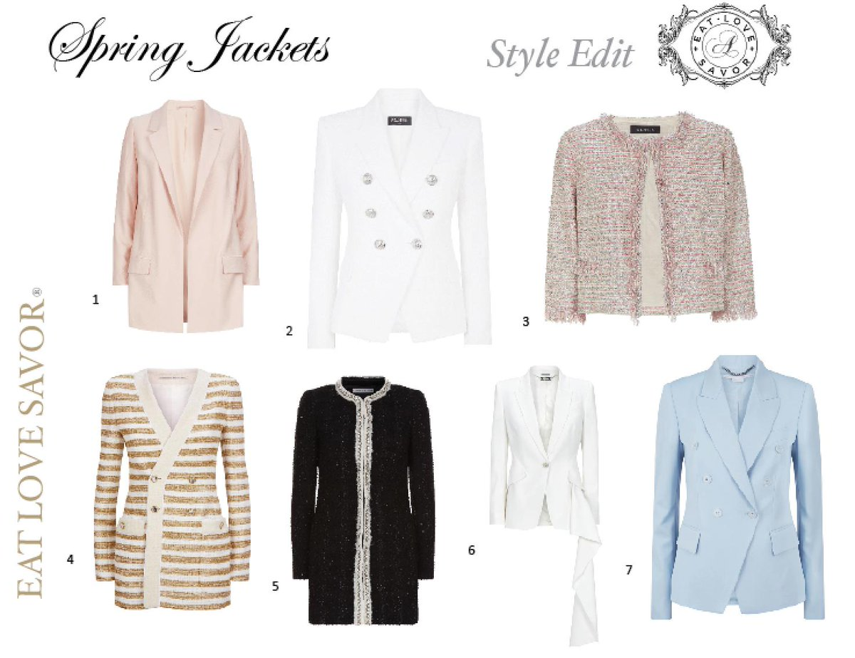 64a43faa Style edit - out of winter and into spring jackets featuring balmain,  alexander mcqueen, st. john ... eat love savor - scoopnest.com