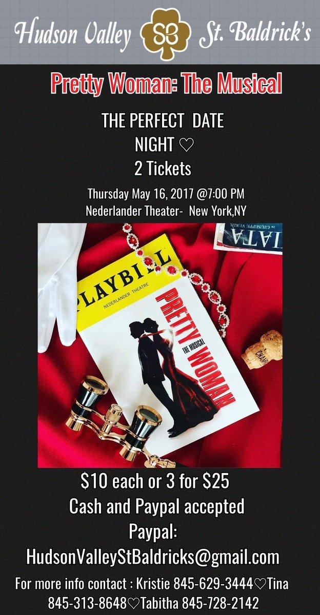 Date night alert!!  Get your tickets starting Monday!  @StBaldricks @NederlanderBway @PrettyWoman #ChildhoodCancer #PrettyWomanTheMusical #fightlikeakid #NewYork #NederlanderTheater #WaldenNY #HVSB2019 #HudsonValleyStBaldricks  http:// Stbaldricks.org/events/HudsonV alley2019 &nbsp; …   #NederlanderBroadway<br>http://pic.twitter.com/QW4aiTHTzo