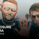 Image for the Tweet beginning: . @disclosure llega a #Lima