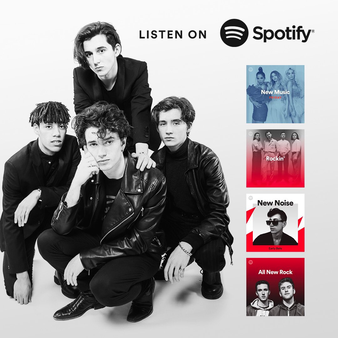 """Massive thanks to @Spotify for adding """"It Won't Always Be Like This"""" to #newmusicfriday and #rockin playlists!                           Check out our new single   https:// open.spotify.com/track/7B3sLYOW fK5LWaBHo4PSzC?si=5d86ZciETYulNUkU1MrqUQ &nbsp; … <br>http://pic.twitter.com/TU0B6Is44L"""