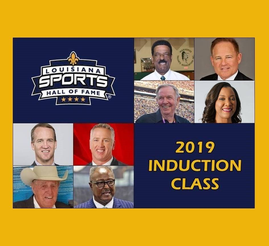 We cannot wait! Mark your calendars and join us at the @LaStateMuseum's Louisiana Sports Hall of Fame for this years induction ceremonies.