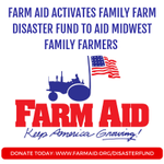 Image for the Tweet beginning: •@FarmAid has activated its family