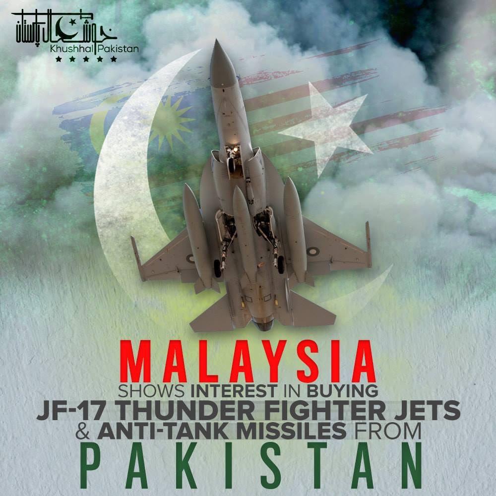 ماليزيا قد تشتري مقاتلات من الصين ( ربما JF-17 Thunder ) D2RrVX3X0AEZeF_