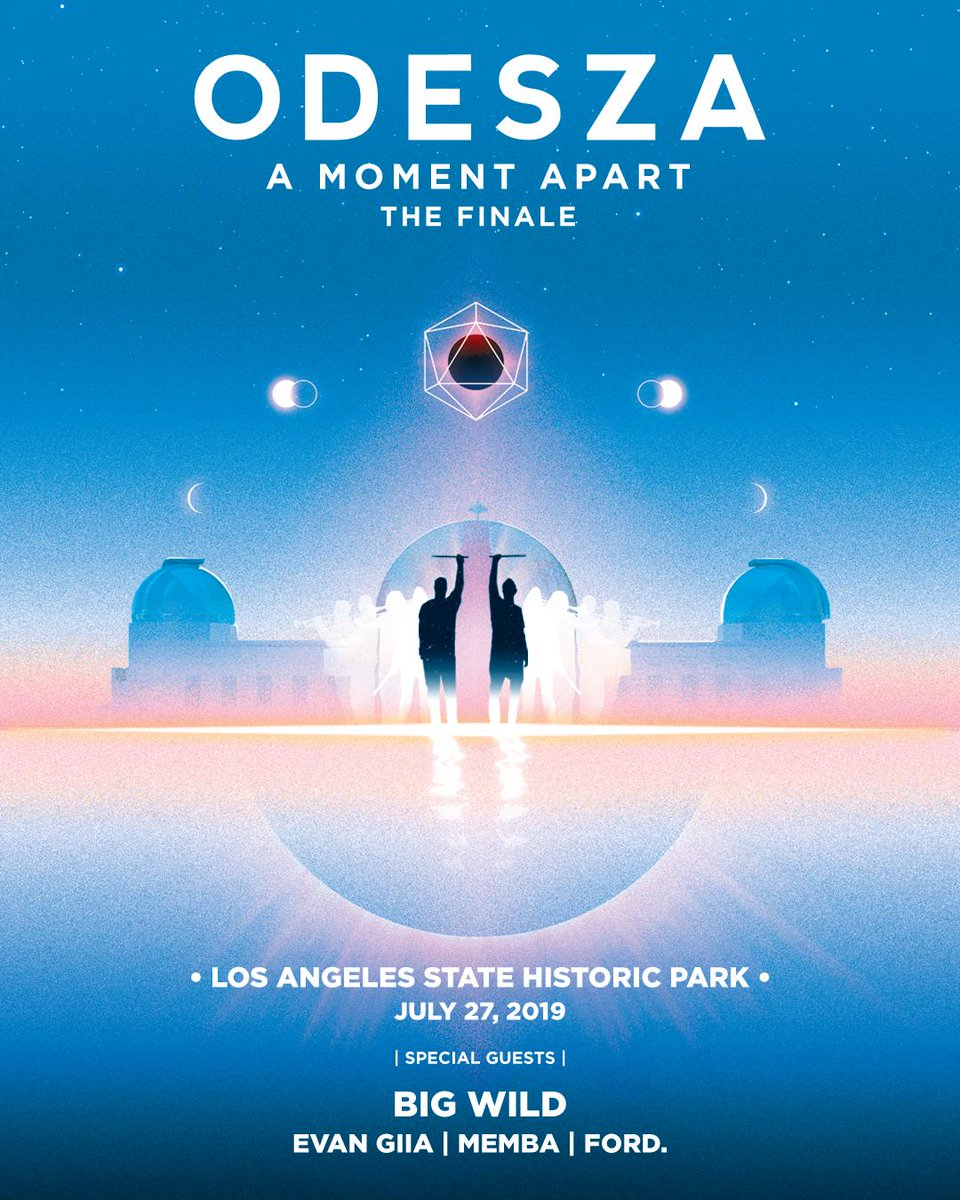 """A Moment Apart was an amazing journey, but it's time to start working on new music. We proudly present """"A Moment Apart - The Finale"""" join us 7.27 at Los Angeles State Historic Park. Thank you for coming on this adventure with us! Register for pre-sale: http://amomentapart.com"""