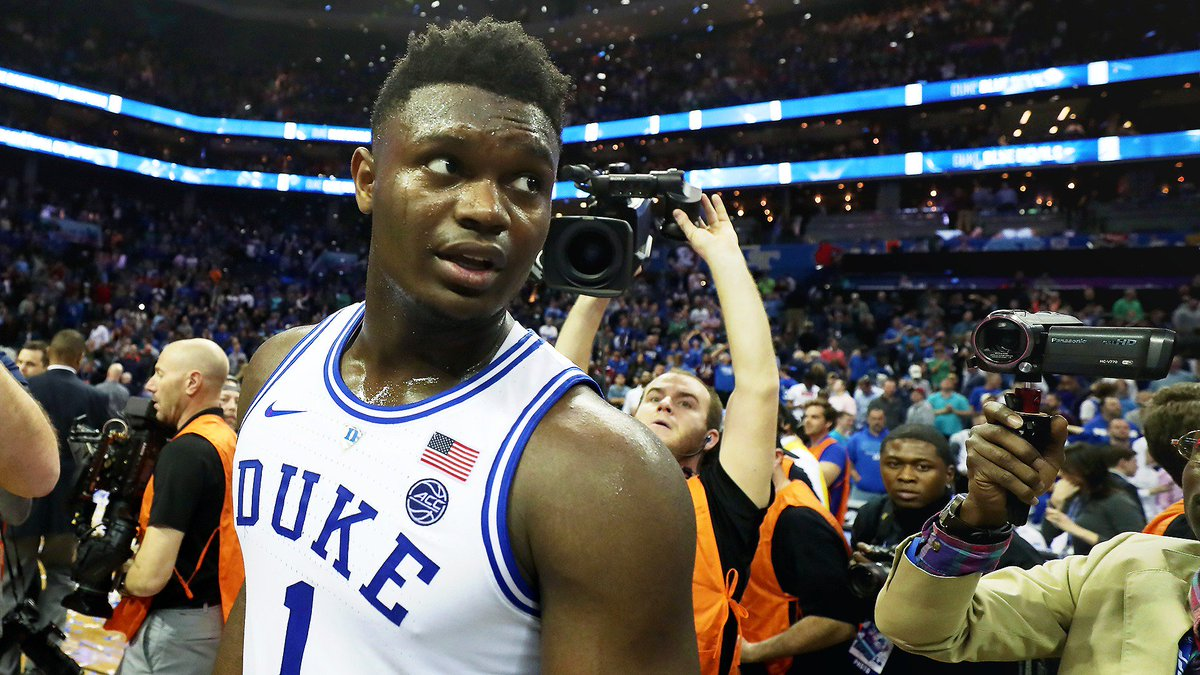 "CBS plans to debut ""Zion Cam"" tonight during Duke's game.  ""We hired a cameraman, a camera, a digital tape machine to record everything he does."" http://bit.ly/2TWVRB9"