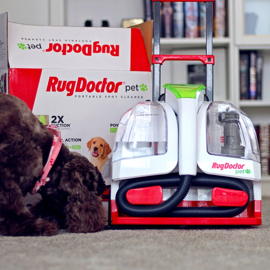 ... pet hair while deep cleaning urine, vomit, and more. It's lightweight, portable and easy to use all over your home and vehicle.